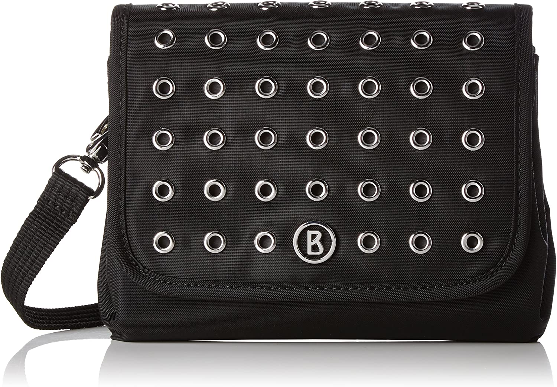 Bogner Saba, Women's CrossBody Bag, black (Embellishment), 3x15x19 cm (B x H T)