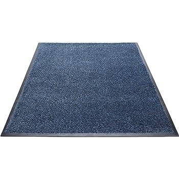 Guardian Platinum Series Indoor Wiper Floor Mat 2x2 Grey Rubber with Nylon Carpet