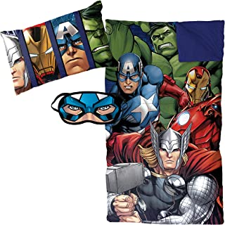Jay Franco Marvel Avengers Assemble 3 Piece Plush Sleepover Set