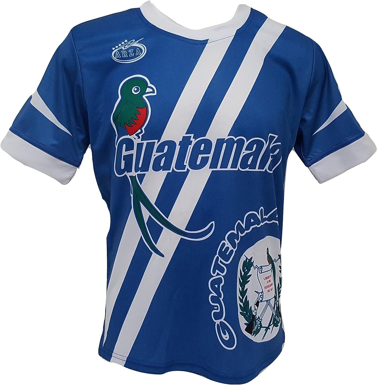 Arza Sports Guatemala Jersey Soccer 定番スタイル 完全送料無料 Men's