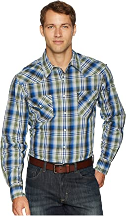 Long Sleeve Plaid Modern Fit