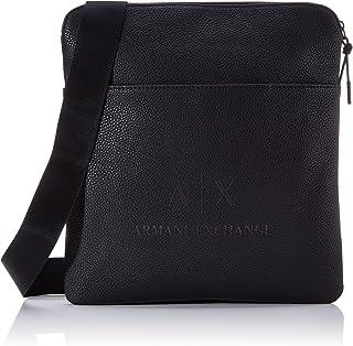 Armani Exchange Medium Flat Crossbody Bag - Borsa Messenger Uomo