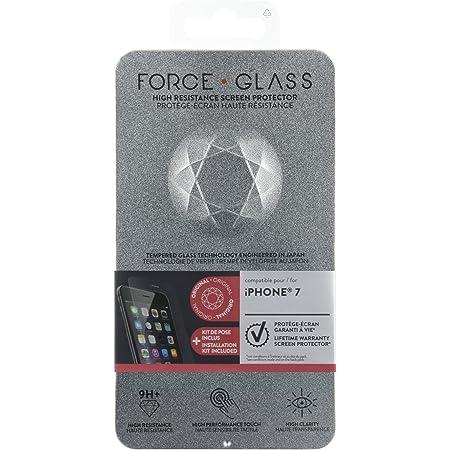 forceglass–Protector de pantalla Vidrio Templado para iPhone 7