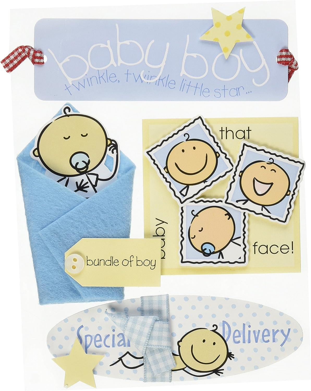 Soft Spoken Themed EmbellishmentsBaby Boy 2