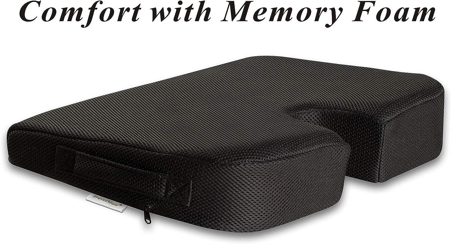 TravelMate Large Medium FIRM Wellness Seat Cushion 17 X 13 X 3 Inches