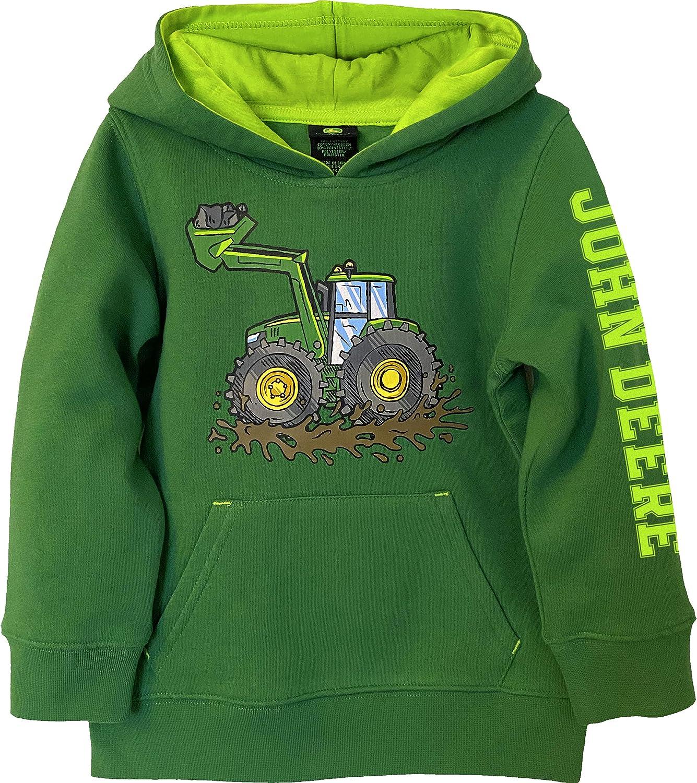John Deere Boys Toddler Fleece Pullover Hoodie