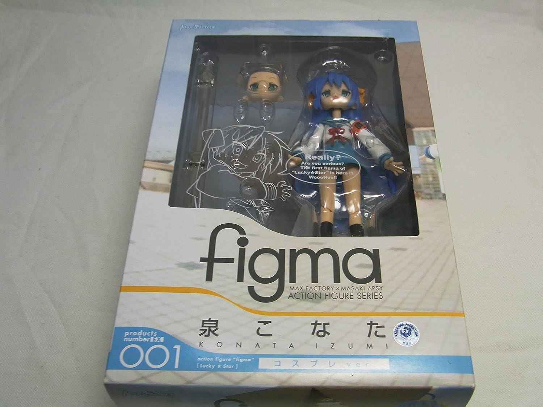 Figma   Lucky Star Izumi Konata Costume Play Ver. (japan import) B001AYTNO4 Lebhaft und liebenswert     | Elegant