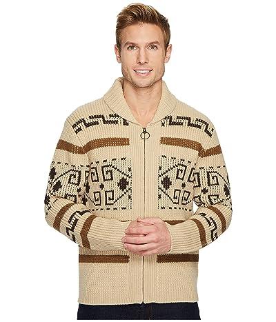 Pendleton Original Westerley Sweater (Tan/Brown) Men