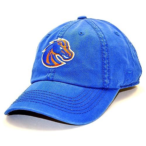 Top of the World Boise State Broncos Enzyme Washed Adjustable Hat - Royal 9d96a007af4