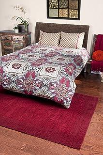 "Rizzy Home BT1155 Bed Skirt, 78""X80"", Khaki"