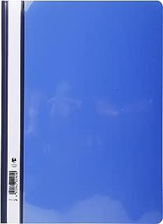 Exacompta PVC Transfer File, Blue, Pack of 25
