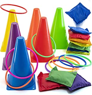 bean bag bucket toss game