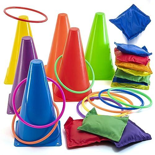 Free Shipping Amscan Carnival Fair Fun Potato Sack Race Bags Game Party Activ..