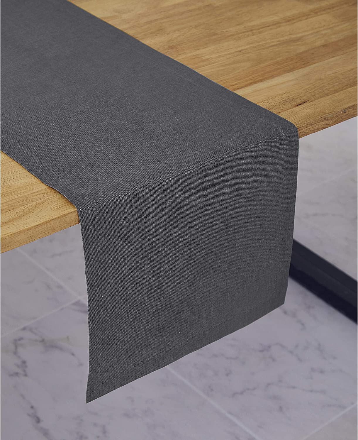 Solino Home Medium Weight Linen Max 75% OFF - 100% Runner Pure Table Sales results No. 1