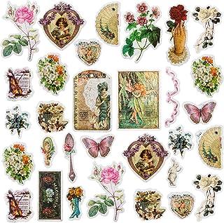 PAGOW 120PCS Fable Washi Decals, Cottagecore Room Decor, Doraking DIY Decoration for Laptop, Room, Kids, Envelopes, Scrapb...