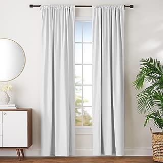 Best white blackout curtains 96 Reviews