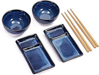 Urban Lifestyle Sushi Set Misaki Marinblau für Zwei Persone