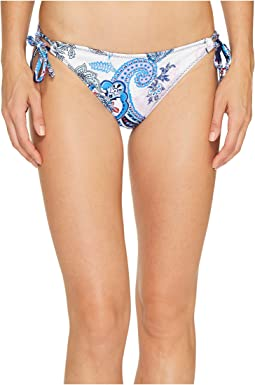 Tommy Bahama Paisley Leaves Reversible String Bikini Bottom