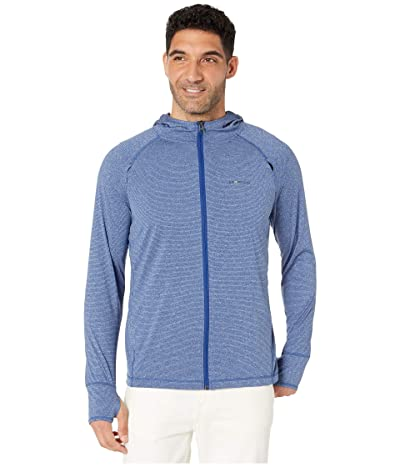 ExOfficio BugsAway(r) Tarka Full Zip Hoodie (Admiral Blue) Men