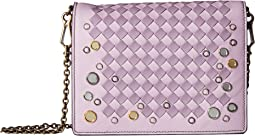 Bottega Veneta Intrecciato Check Mirror Crossbody