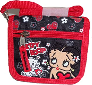 Betty Boop Wallet with Detachable Shoulder Strap