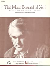 Sheet Music The Most Beautiful Girl Charlie Rich 120
