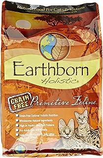 Earthborn Holistic Primitive Feline Grain Free Dry Cat Food, 5 Lb.