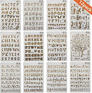 Best english alphabet stencils Reviews