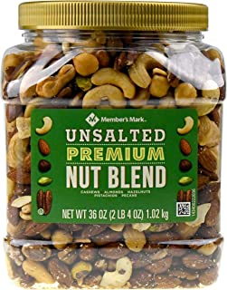 Members Mark Unsalted Premium Nut Blend, 36 oz