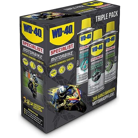 Wd 40 Motorbike Komplettreiniger 500ml Set Farblos 49241 3 Gewerbe Industrie Wissenschaft
