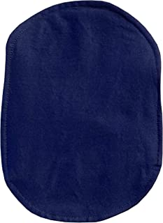 Ostomy Bag Cover Navy, 3.25 inch Opening