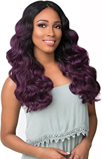 Sensationnel Synthetic Empress Hand-Tied Deep Lace Parting Wig - DEE (1)