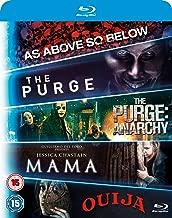 5-Movie Starter Pack: Mama/The Purge/Purge: Anarchy/OUIJA/As Above, So Below 2015 Region Free