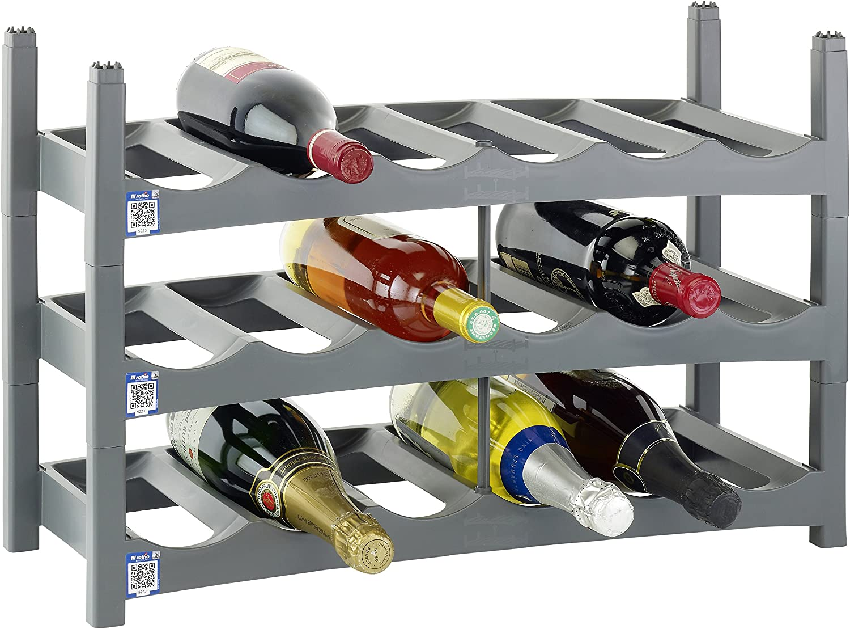 buscando agente de ventas rojoho Polipropileno botellero (9 Unidades, Unidades, Unidades, gris)  comprar ahora