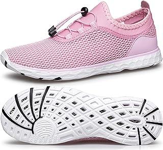 Womens Water Shoes Quick Dry Aqua Sneakers Sports for Kayak Boat Pool Beach Swim Diving