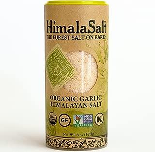 HimalaSalt Organic Garlic Shaker, 6 ounce