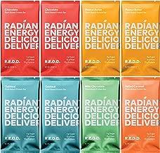 REDD - 8 Bar Variety Pack - Plant Based Protein Bar - Chocolate, Oatmeal, Peanut Butter, Mint, Salted Caramel - Gluten Free, Vegan, Low Sugar, High Fiber, Probiotics, 2 Ounce (8 Count)
