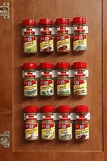 Bellemain Spice Gripper Clip Strips for Plastic Jars – Set of 3, Holds 12 Jars