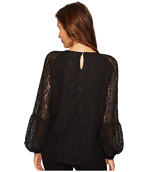 Poet Calvin Top Klein Lace Sleeve 5wgzBq