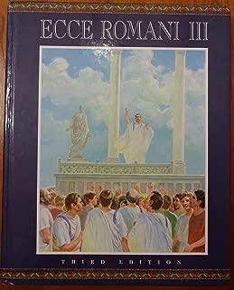 ECCE ROMANI HARDCOVER STUDENT EDITION LEVEL 3 2000C