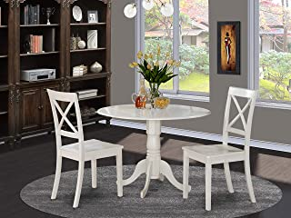 Amazon Com 3 Pieces Dining Table Chair Sets