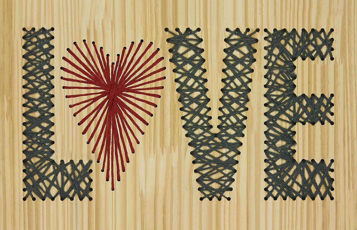 Dimensions Crafts 72-74207 Yarn Art Love