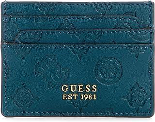 GUESS Bea Card Holder Wallet, Pine