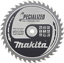 Makita b-09210 136 10 mm x 36T cirkelzaagblad, 1 zilver