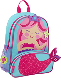 Stephen Joseph Sidekick Backpacks Children's Backpack, Mermaid,
