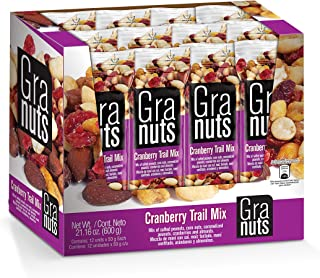 Sponsored Ad - Granuts Cranberry Trail Mix | Caramelized Peanuts | Crunchy Corn Nuts + Almonds | Soft Cranberries | Salty ...