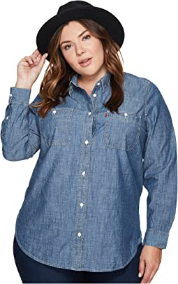 Levi's® Plus - Workwear Boyfriend Long Sleeve Woven