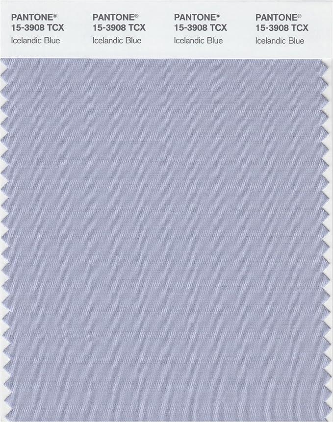 Pantone 15-3912 TCX Smart Color Swatch Card Aleutian