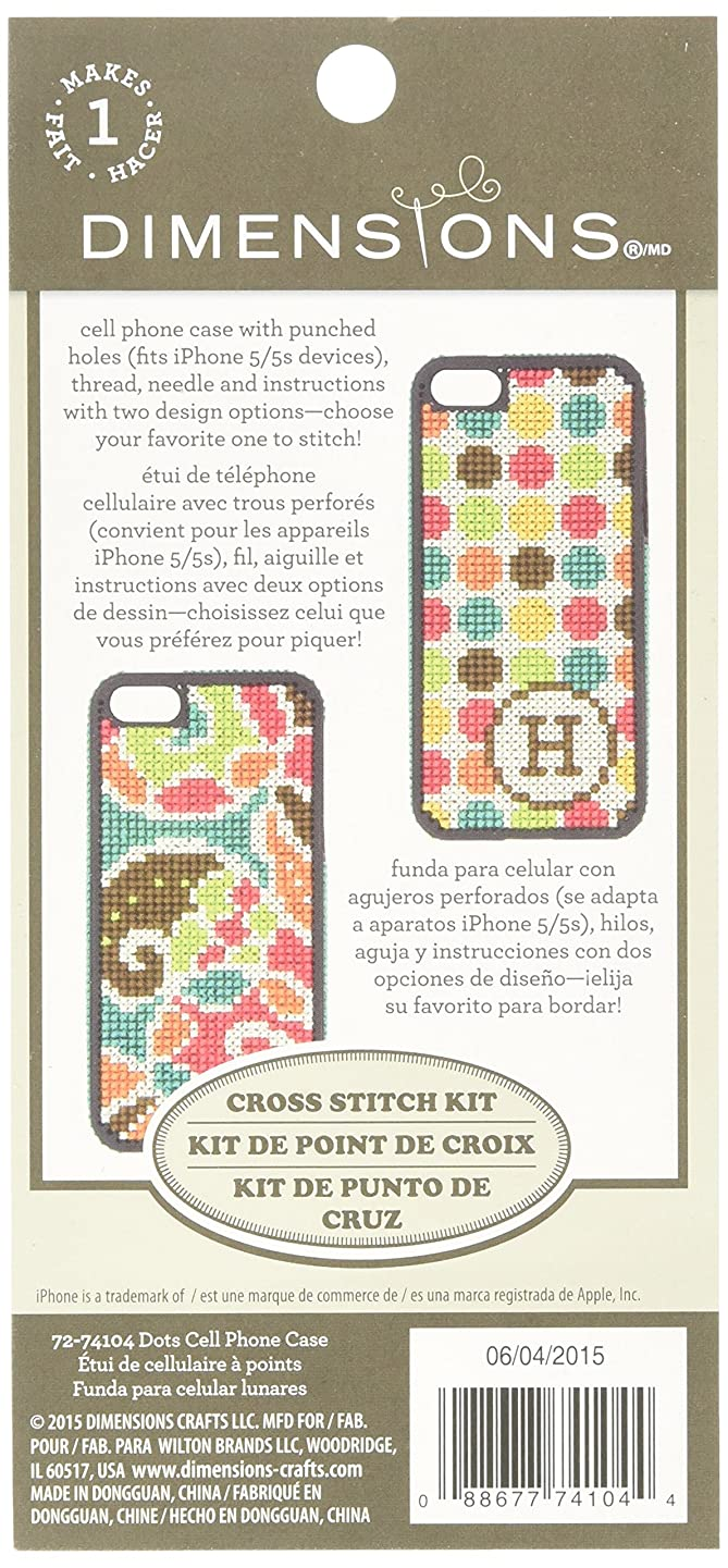 Dimensions Dots Cell Phone Case Kit, 72-74104