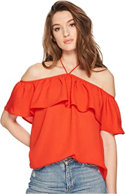 Jack by BB Dakota Emonds Off the Shoulder Halter Top
